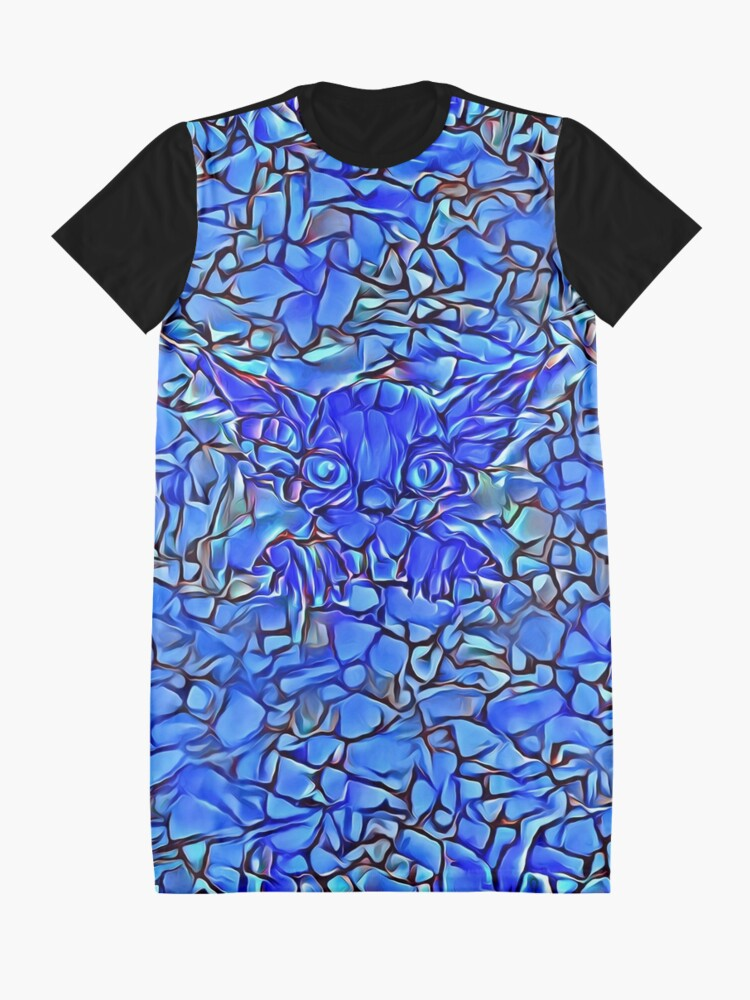 Alternate view of Blue stones Graphic T-Shirt Dress