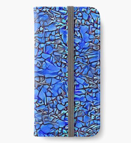 Blue stones iPhone Wallet