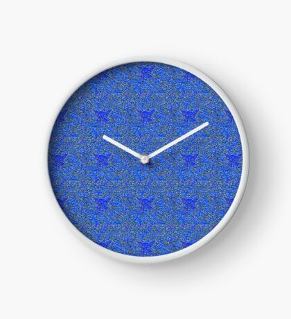 Blue stones Clock