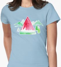 The Sweet Outdoors - By Merrin Dorothy Womens Fitted T-Shirt