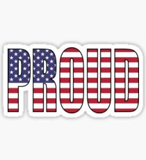Proud (USA) Sticker