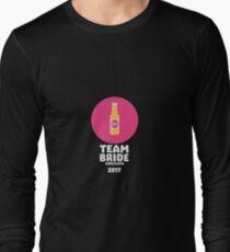Team bride Barcelona 2017 Henparty Ra77p Long Sleeve T-Shirt