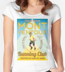 Chris Froome Mont Ventoux Running Club Women's Fitted Scoop T-Shirt