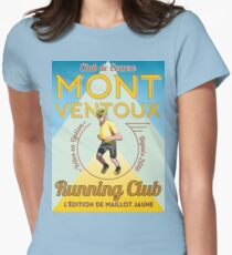Chris Froome Mont Ventoux Running Club Womens Fitted T-Shirt