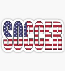 Soccer (USA) Sticker