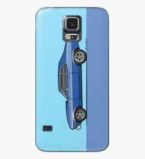 68-72 Blauer Chevy Nova Hülle & Klebefolie für Samsung Galaxy