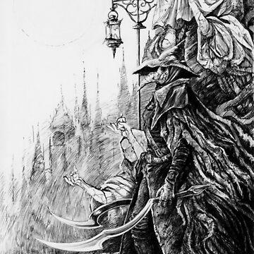 Eileen the Crow - Bloodborne by August