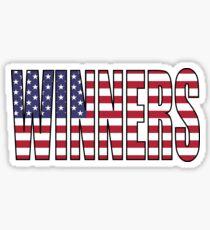 Winners (USA) Sticker