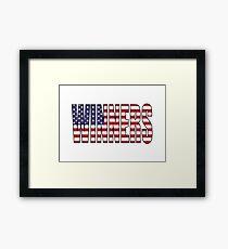 Winners (USA) Framed Print