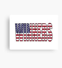 Winners (USA) Canvas Print