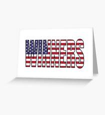 Winners (USA) Greeting Card
