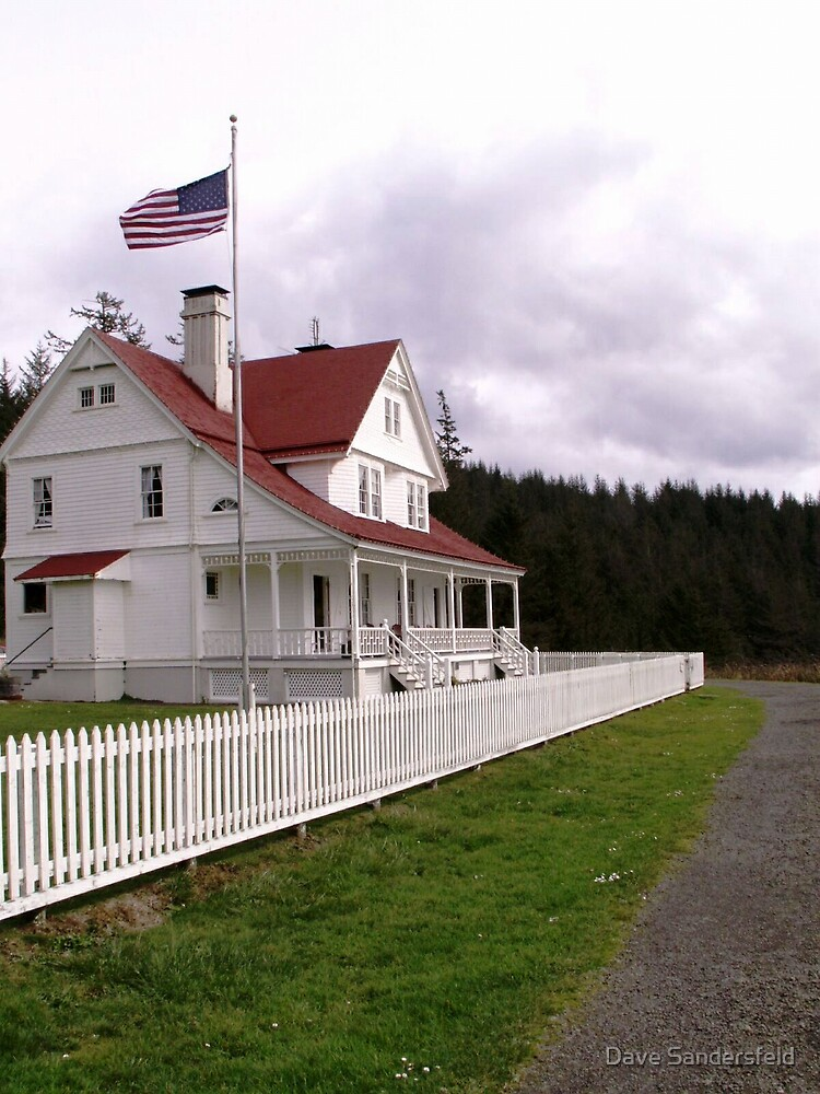 Heceta Lighthouse Keeper's Home by Dave Sandersfeld