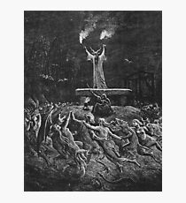 Witches Dancing at a Sabbath - Unknown Doré Photographic Print