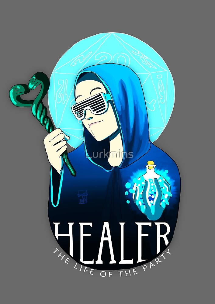 Healer: the Life of the Party by Lurkmins