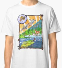 Hunting Fly Fishing Classic T-Shirt