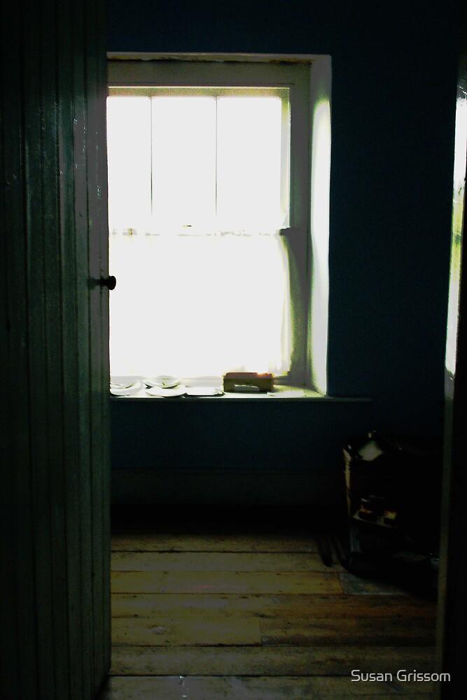 Ireland  door to window by Susan Grissom