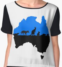 Australia BLUE Women's Chiffon Top