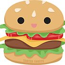 Burger Buddy Sticker by TaintedSweets