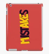 Make mistakes iPad Case/Skin