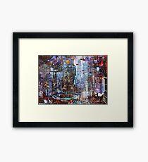 The City 4985 A.E. Framed Print