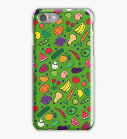 Fruits and Veggies! iPhone Case/Skin