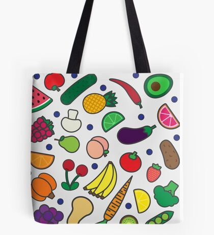 Fruits and Veggies! Tote Bag