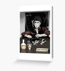 Tony Montana Greeting Card