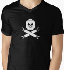Plastic Pirate Men's V-Neck T-Shirt