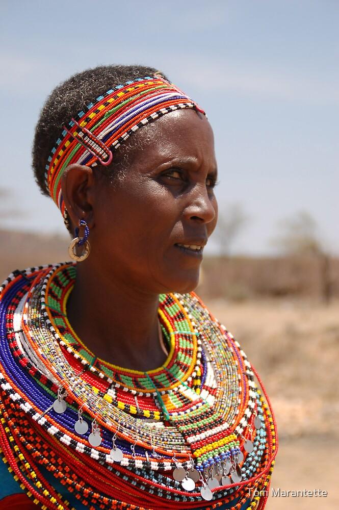 Beautiful African Women by Tom Marantette