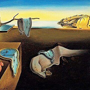 DALI, Salvador Dali, The Persistence of Memory, 1931 by TOMSREDBUBBLE