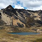 Andes Lake - Cordillera Central, Peru by Rebel Kreklow