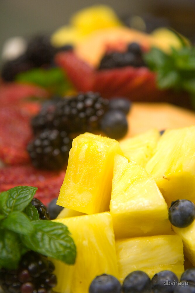 Pineapple and Berries by dbvirago