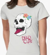 Dead Cute Womens Fitted T-Shirt