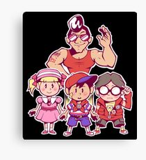 EarthBound Beginnings Party Canvas Print