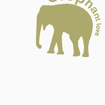 Elephant Luv by semsono