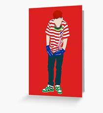 Jooheon Rush Minimalist Greeting Card