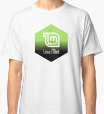 linux mint hexagonal Classic T-Shirt