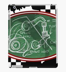 Desmo Valve Illustration iPad Case/Skin