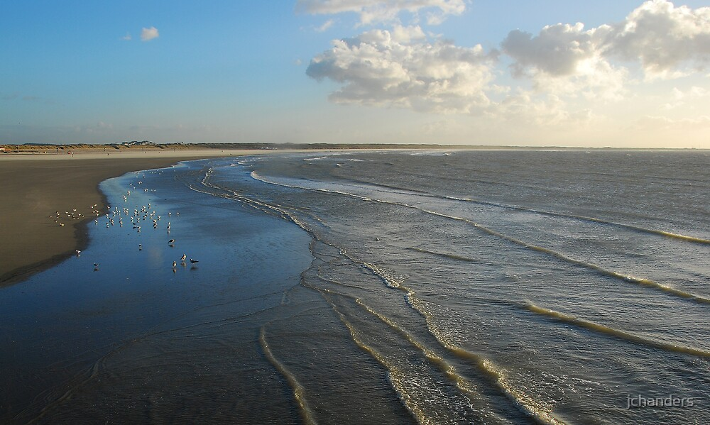 Dutch December beach by jchanders