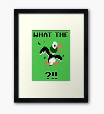 What The Duck Framed Print