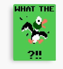 What The Duck Canvas Print