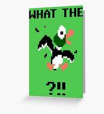 What The Duck Greeting Card