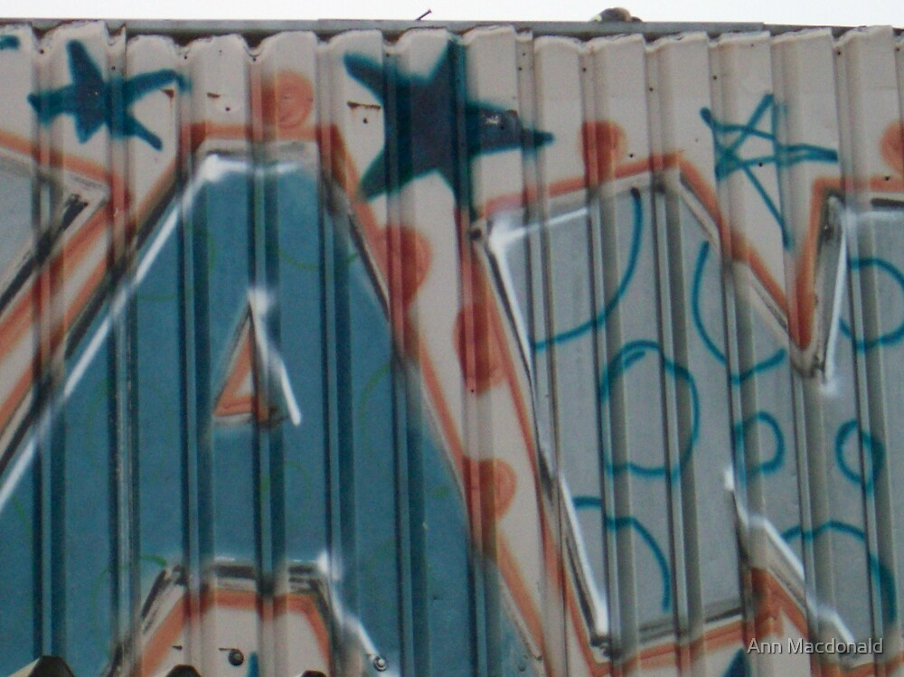 graffity 3 by Ann Macdonald