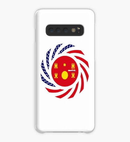 Hmong American Multinational Patriot Flag Series 1.0 Case/Skin for Samsung Galaxy