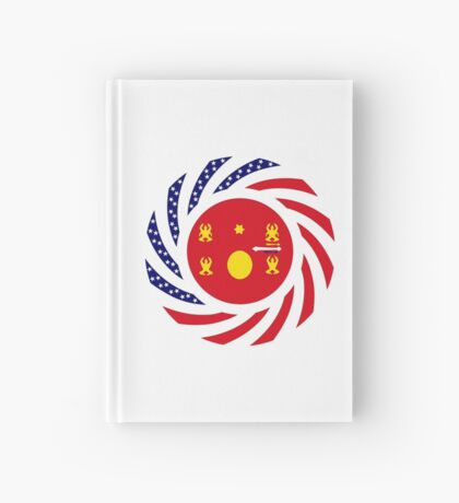 Hmong American Multinational Patriot Flag Series 1.0 Hardcover Journal