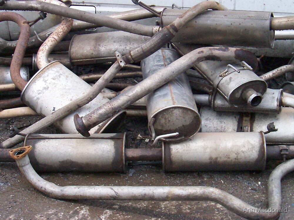 exhausts by Ann Macdonald