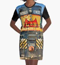 L & N 405 Graphic T-Shirt Dress