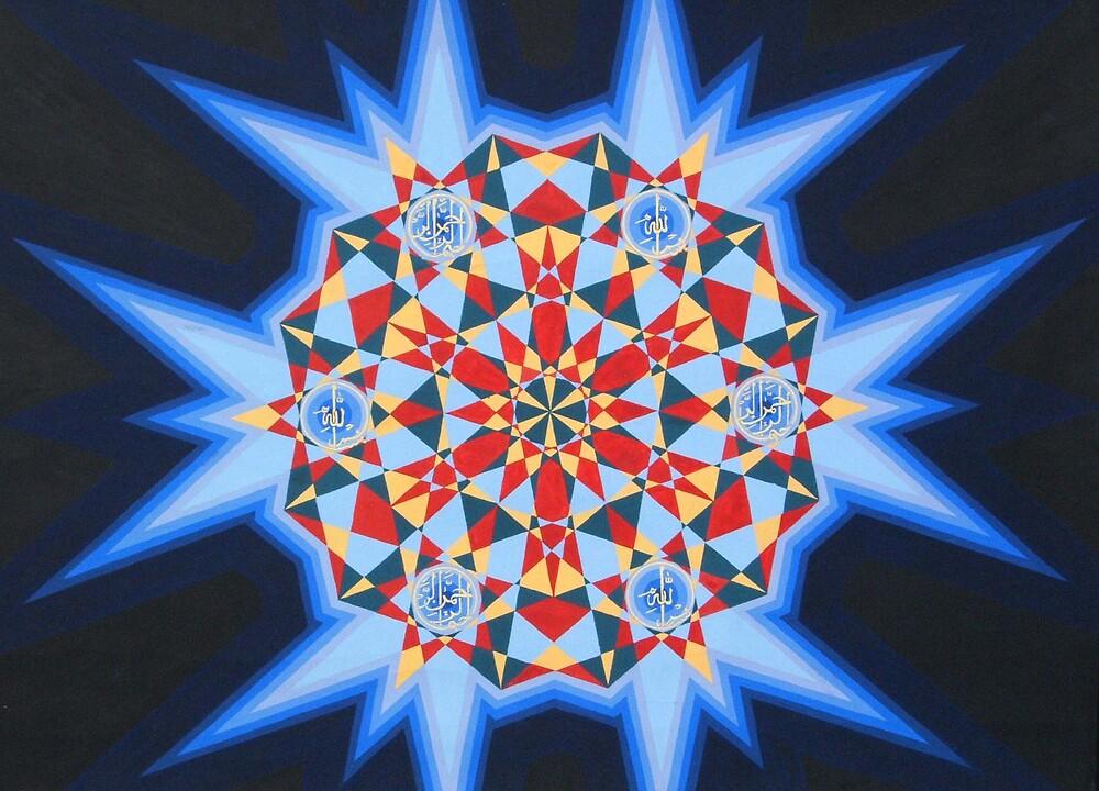 Bismillah Star by Steven Frisby