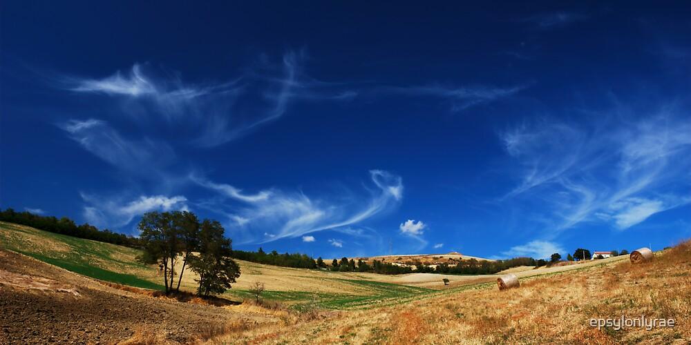 Frayed clouds by epsylonlyrae