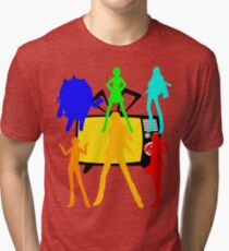 Persona characters Tri-blend T-Shirt
